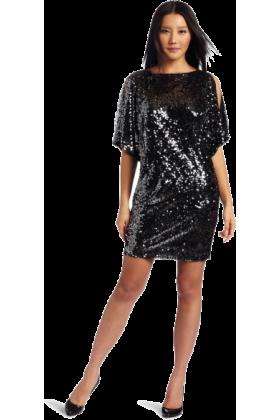 Donna Morgan Dresses -  Donna Morgan Women's Wide Sleeve Dress Gunmetal