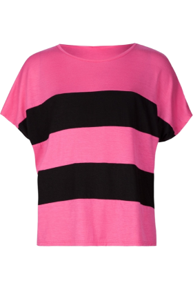 Full Tilt T-shirts - FULL TILT Color Block Girls Pink - $13.99 ...
