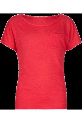 Full Tilt T-shirts -  FULL TILT Essential Pocket Girls Tee Coral