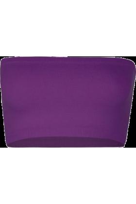 Full Tilt Underwear -  FULL TILT Seamless Bandeau Grape