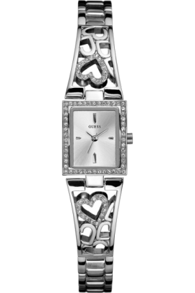 GUESS Watches -  GUESS Stainless Steel Petite Bracelet Watch -
