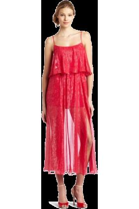 Halston Heritage Dresses -  HALSTON HERITAGE Women's Tiered Gown Rose