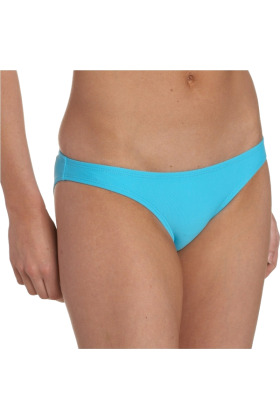 Jessica Simpson Swimsuit -  Jessica Simpson Women's Charming Ring Back Scoop Bikini Bottom Turquoise