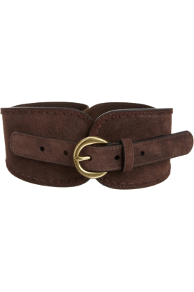 Jessica Simpson Belt -  Jessica Simpson Women's Stretch Suede Belt Brown