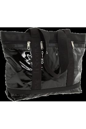 LeSportsac Bag -  LeSportsac Medium Travel Tote Black Debossed