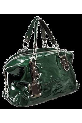 Moja torbica.si Bag -  Modna Torbica  - Zelena Lak
