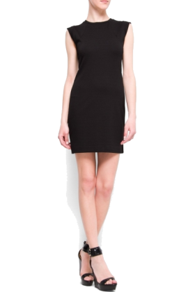 Mango slim fit cocktail dress