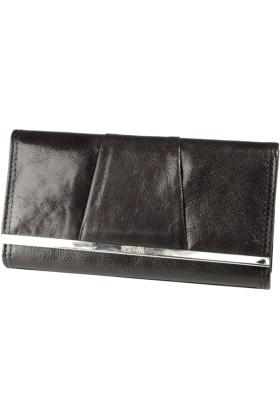 Mundi Clutch bags -  Mundi  Kenneth Cole Barcelona  Leather Flap Clutch Black