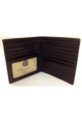 Osgoode Marley Wallets -  Osgoode Marley Sienna Collection Leather ID Hipster Wallet - Black
