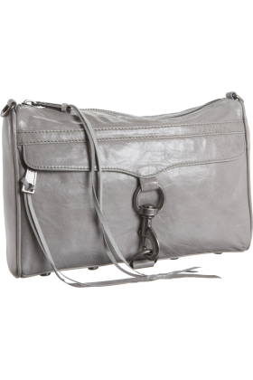 Rebecca Minkoff Bag -  Rebecca Minkoff  Mac Cross Body Grey