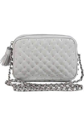 Rebecca Minkoff Bag -  Rebecca Minkoff Flirty Cross-Body,Dove,one size