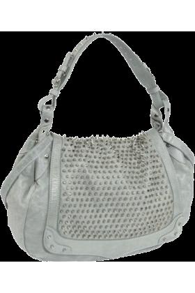 Rebecca Minkoff Bag -  Rebecca Minkoff Moon Struck Silver Hardware  Shoulder Bag Baby Blue