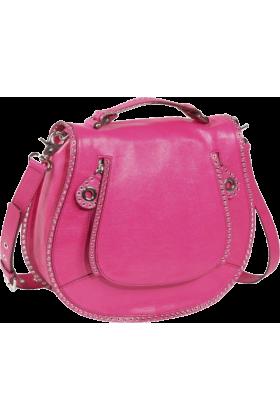 Rebecca Minkoff Bag -  Rebecca Minkoff Vanity Crossbody - Lizard Electric Pink