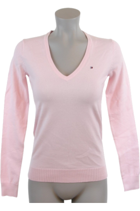 Tommy Hilfiger Pullovers - Tommy Hilfiger Women Logo Pink - $44.99 ...