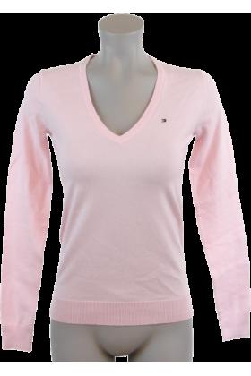 Tommy Hilfiger Pullovers - Tommy Hilfiger Women Logo Pink - $44.99 ...