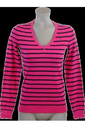 tommy hilfiger pullovers tommy hilfiger women logo pink. Black Bedroom Furniture Sets. Home Design Ideas