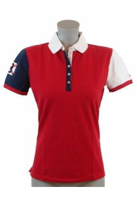 Tommy Hilfiger Shirts Tommy Hilfiger Womens Slim Fit Red
