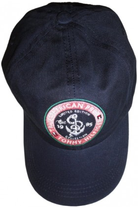 Tommy Hilfiger Cap -  Women's Tommy Hilfiger Hat Ball Cap True American Prep Limited Edition Navy with Logo