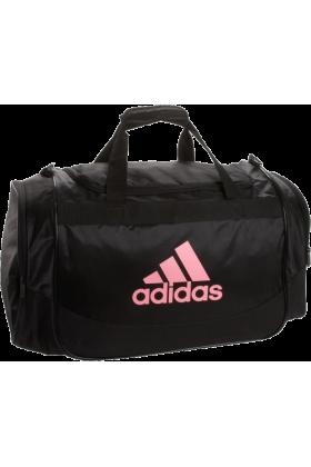 adidas Bag -  adidas Defender Medium Duffel Black/Petal Pink
