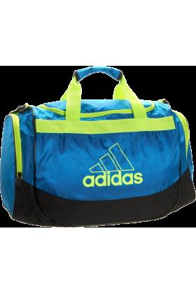 adidas Bag -  adidas Defender Small Duffel Sharp Blue/Slime