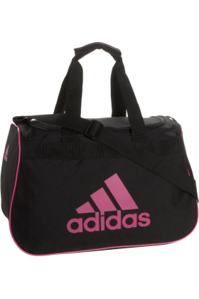 adidas Bag -  adidas Diablo Small Duffel Black/Intense Pink