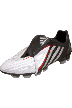adidas Sneakers -  adidas Men's Predator PS Hard Ground Power Soccer Cleat White/Silver (Power)