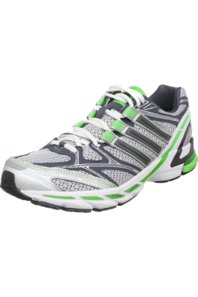 adidas Sneakers -  adidas Men's Supernova Sequence 3 M Running Shoe Metallic Silver/Black Green Metallic/Intense Green