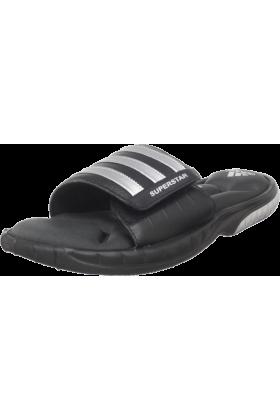 adidas Sandals -  adidas Men's Superstar 3G Slide Sandal Black/Metallic Silver/Solid Grey