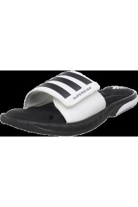 adidas Sandals -  adidas Men's Superstar 3G Slide Sandal Black/White/Black