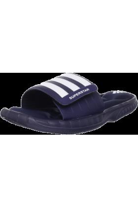 adidas Sandals -  adidas Men's Superstar 3G Slide Sandal Collegiate Navy/White