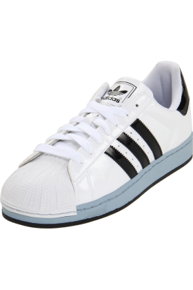 Amazon.com Sneakers -  adidas Originals Men's Superstar ll Sneaker White/Black/Light Steel