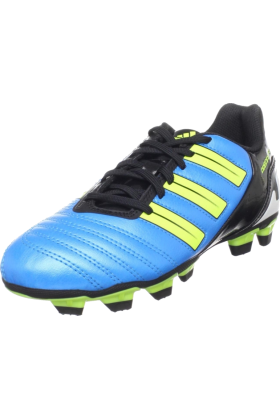 adidas Sneakers -  adidas Predito_X TRX FG Soccer Cleat (Toddler/Little Kid/Big Kid) Predator Sharp Blue /Predator Electricity/Black