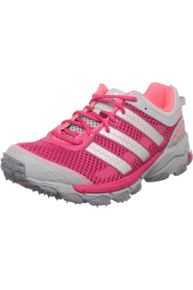 adidas Tenisówki -  adidas Women's Response Trail 18 Running Shoe Sharp Red/Zero Metallic/Turbo