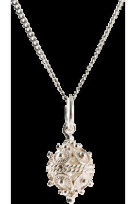 Dubrovacki botuni Necklaces -  ドブロブニクのボタン ペンダントヘッド(シルバー) 小