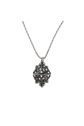 Dubrovacki botuni Necklaces -  ドブロブニクのボタン(ダークシルバー)ゴスパリ トリトン