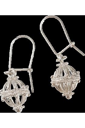 Dubrovacki botuni Earrings -  ドブロブニクのボタンイヤリング(シルバー)ゼムリャ /zem