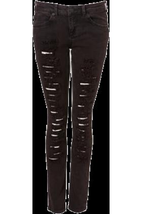 noemi jeans black ripped jeans black. Black Bedroom Furniture Sets. Home Design Ideas