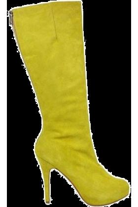 Elena Ekkah Boots -  Boots Yellow