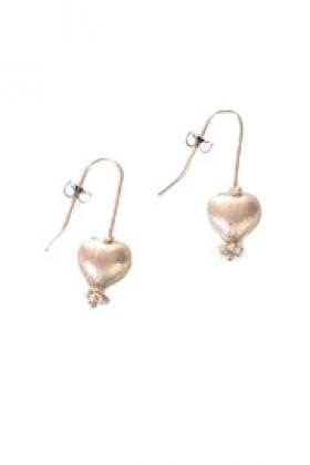 Shoptiques Brincos -  Heart Earrings