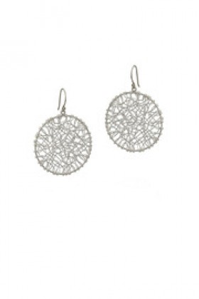 Shoptiques Brincos -  Silver Wire Earrings