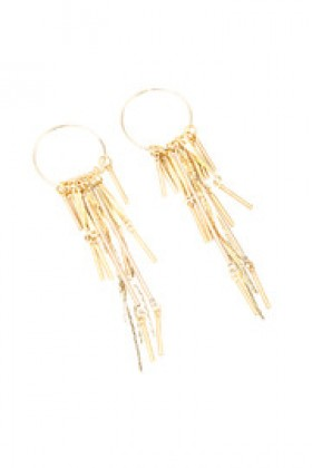Shoptiques Brincos -  Reds Of Sunset Earrings