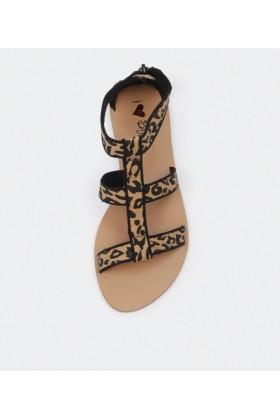 I Love Billy Sandals -  I Love Billy Menace Ocelot - Women Sandals