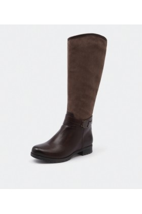 Rockport Boots -  Rockport Tristina Circle Boot Brown - Women Boots