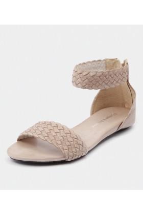 Django & Juliette Sandals -  Django & Juliette Garro Beige - Women Sandals