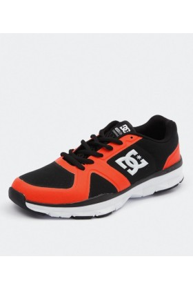 DC Shoes Sneakers -  DC Shoes Unilite Trainer Black/Orange - Men Sneakers