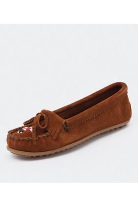 Minnetonka Shoes -  Minnetonka Thunderbird Brown - Women Shoes