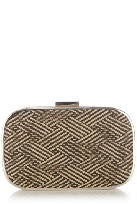 Oasis Borse con fibbia -  Safari Hard Case Clutch