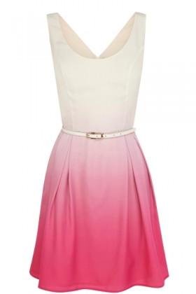 Oasis Dresses -  Ombre Skater Dress