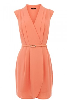 Oasis Dresses -  Crepe V Neck Dress