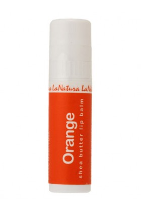 kitson Cosmetics -  [LaNatura]ORGANICALLYGROWNSHEABUTTERLIPBALM-ORANGE